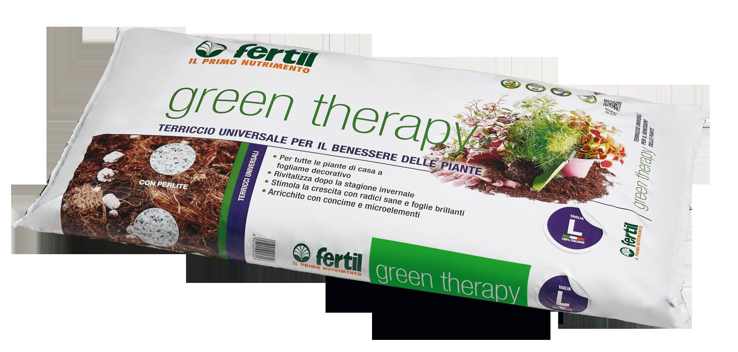 Terriccio Non Assorbe Acqua green therapy - terriccio universale per il benessere delle