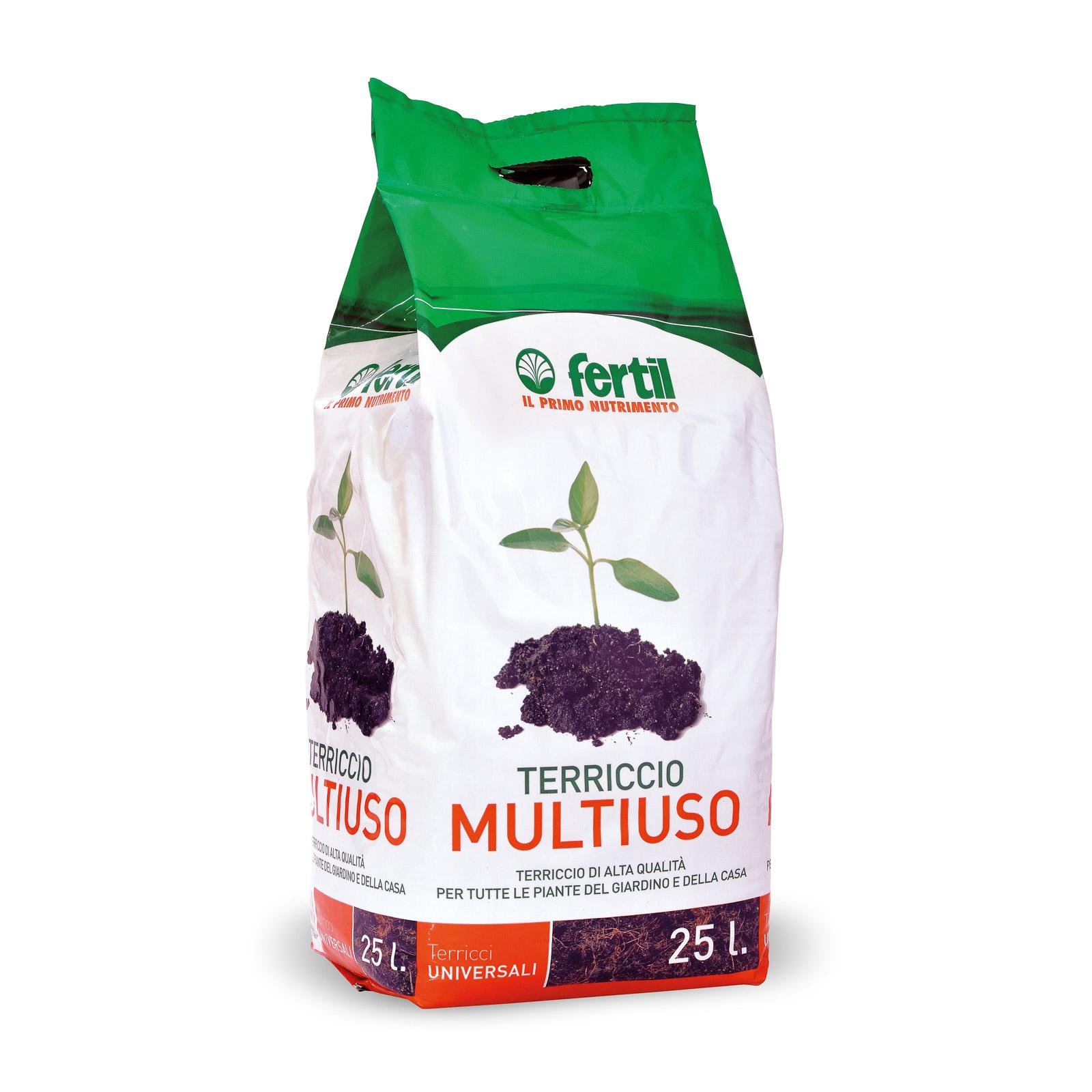 Terriccio multiuso fertil for Viridea catalogo